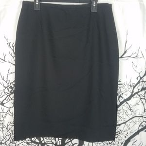 Dana Buchman   Black Pencil Skirt size 16
